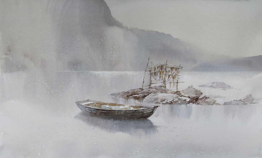Выставка художников-акварелистов города Сочи Акварель в Сочинском Художественном музее