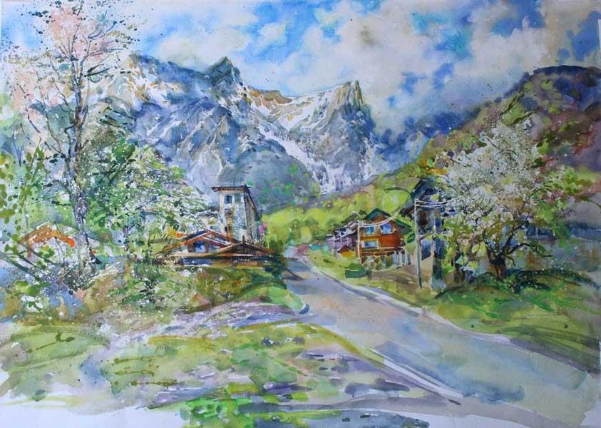 Выставка художников-авкварелистов города Сочи в Сочинском художественном музее