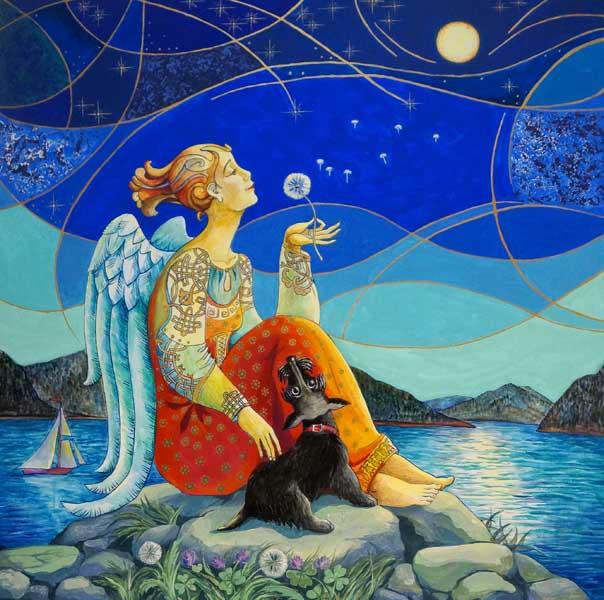Международный арт-проект Ангелы мира в Сочинском Художественном музее