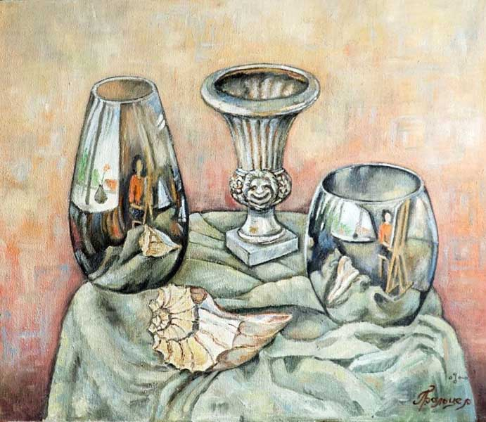 Художница Людмила Бальцер представляет в Сочинском художественном музее персональную выставку Долина грез