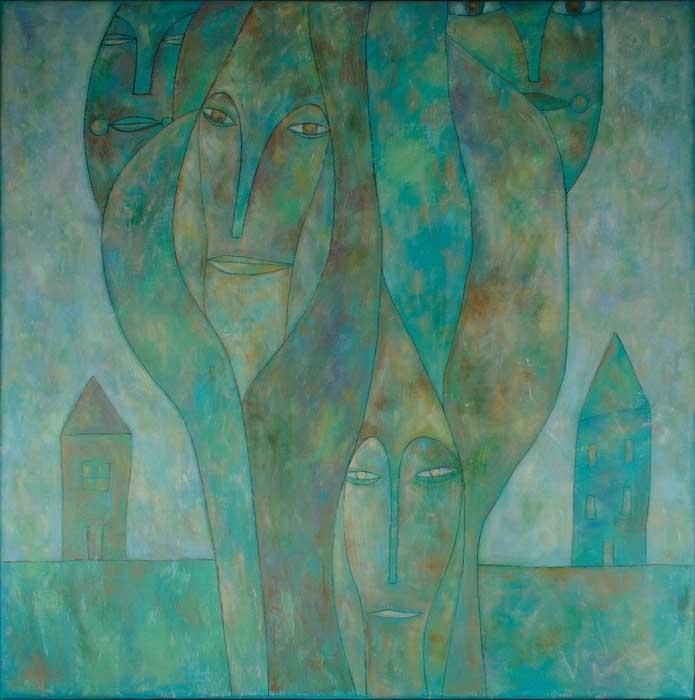 Василиса Дарсания Рисованные грёзы Персональная выставка В сочинском Художественном музее