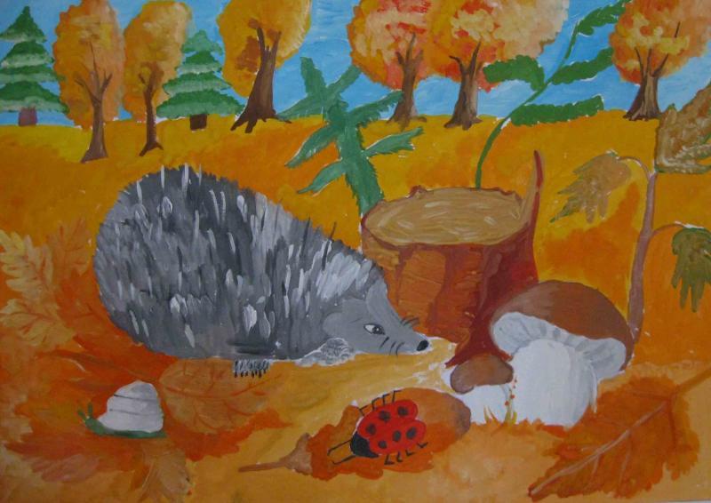 Детская выставка Солнечные краски