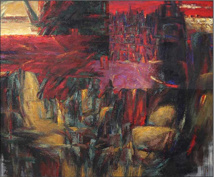 Петр Кукушкин и Владимир Олейник в Сочинском Художественном музее