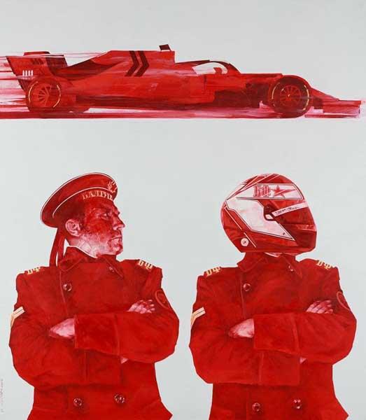 Королевские гонки, выставка живописи в Сочинском Худождественном музее