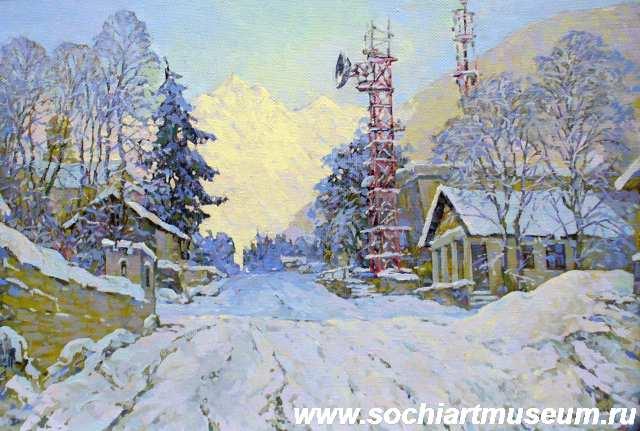 Юрий Финогенов в Сочинском музее