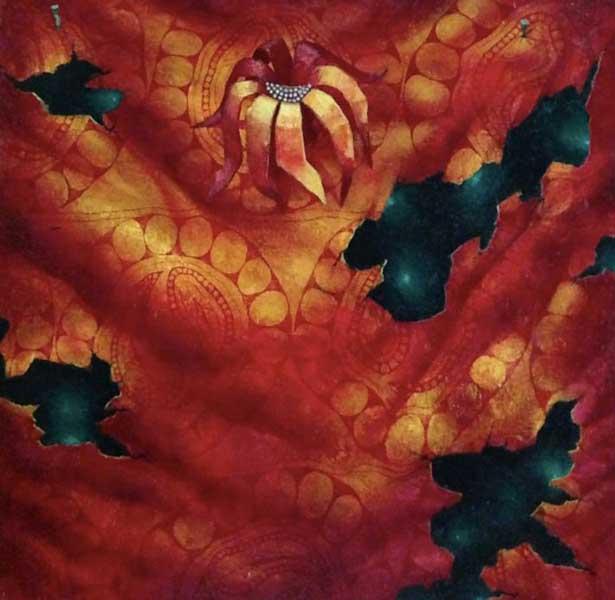 Современная живопись лучших профессиональных художников Узбекистана Плод граната - цвет граната  Сочинском художественном музее