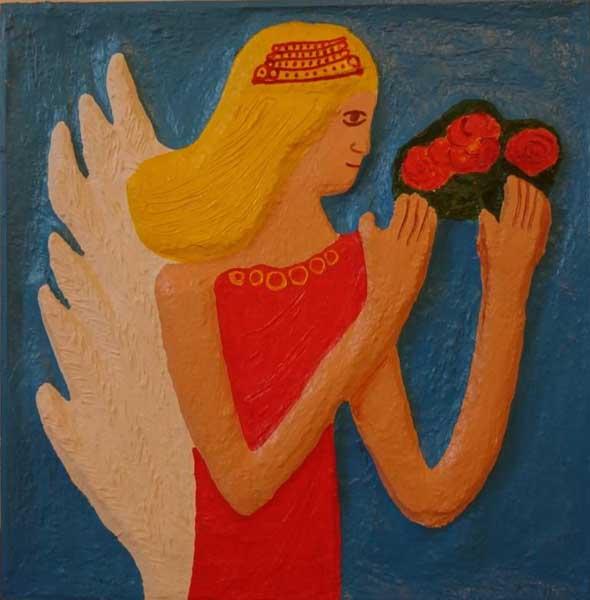 Выставка сочинской художницы Ольги Хрисановой Прикоснись к картине в  Сочинском Художественном музее
