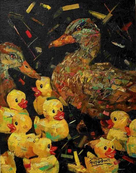 Персональная выставка Кирилл Бородин Витамин Б Живопись в Сочинском художественном музее
