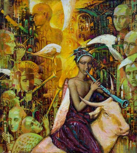 Выставка живописных работ сочинского художника Михаила Кибы Аллегории в Сочинском художественном музее