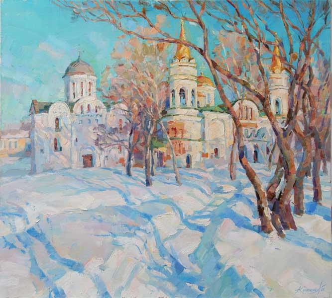 Солнечная колыбель Марии Колюжной в Сочинском Художественном музее