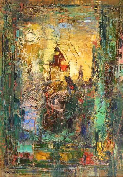 Персональная выставка Народного художника России В.В. Коробейникова Улыбнись чистому городу! живопись, графика