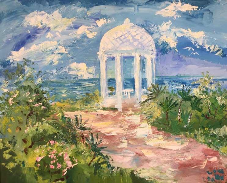 Эдуард Кундакчян Персональная выставка живописи Мой Сочи в Сочинском Художественном музее