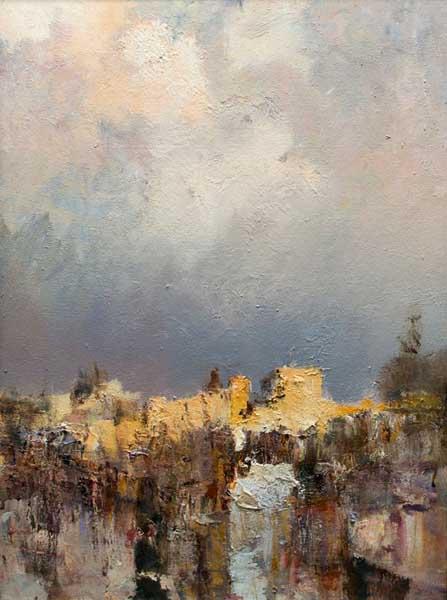Выставка живописи известного российского художника Романа Ляпина в Сочинском Художественном музее