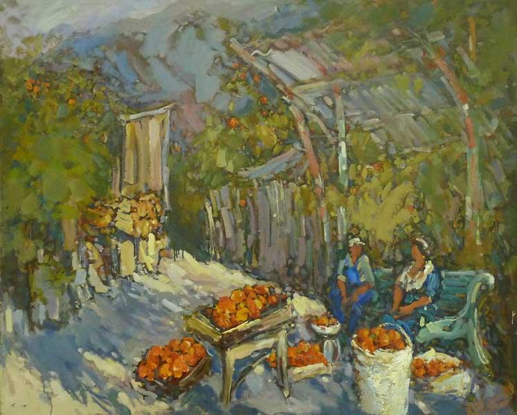 Персональная выставка А.Отрошко Цветные ритмы в Сочинском художественном музее