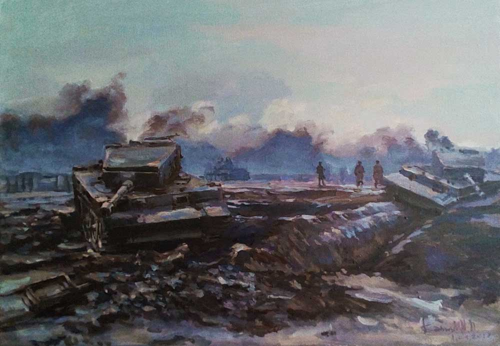 Выставка художников объединения Площадь Искусств в Сочинском Художественном музее