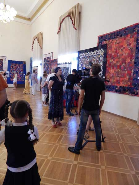 Персональная выставка работ Ларисы Дергачевой