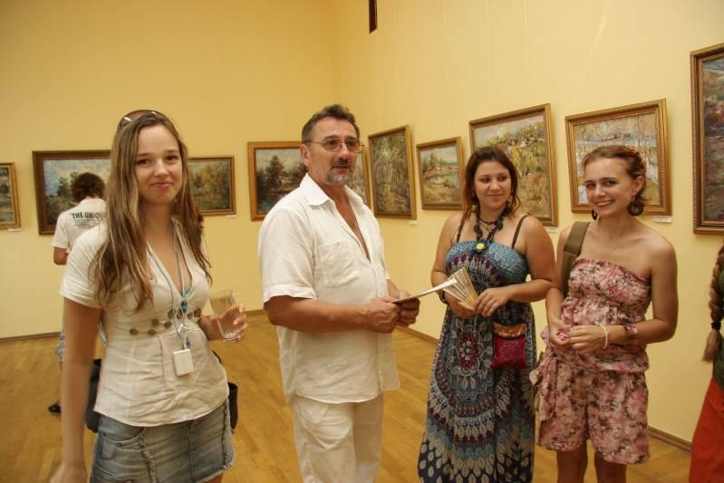 На выставке Сергея Сметанкина