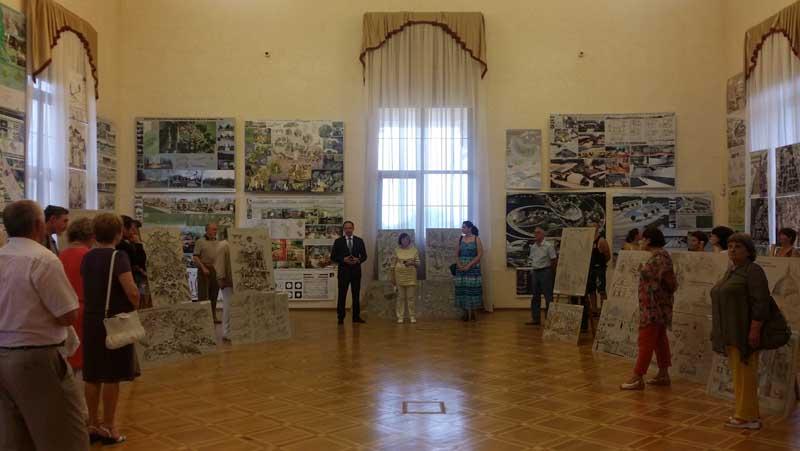 Выставка Сочи — гостеприимный город в Сочинском Художественном музее