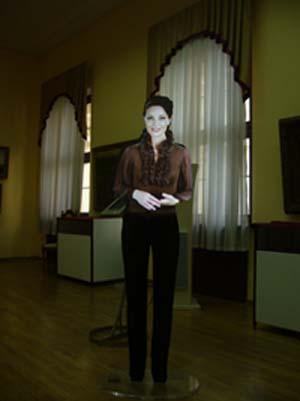 виртуальный стендист в сочинском национальном музее