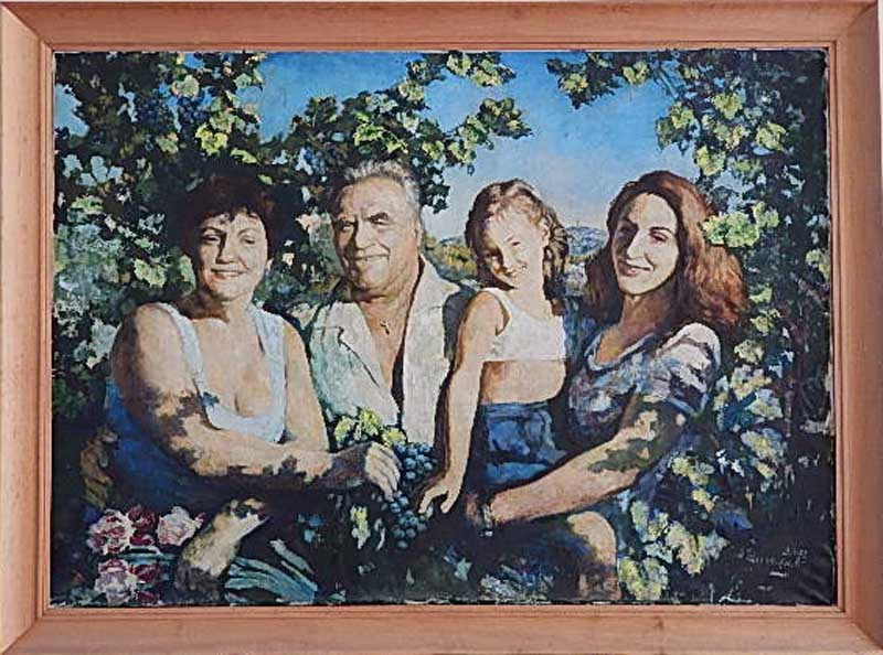 Выставка работ сочинских художников Тихомировых в Сочинском Художественном музее
