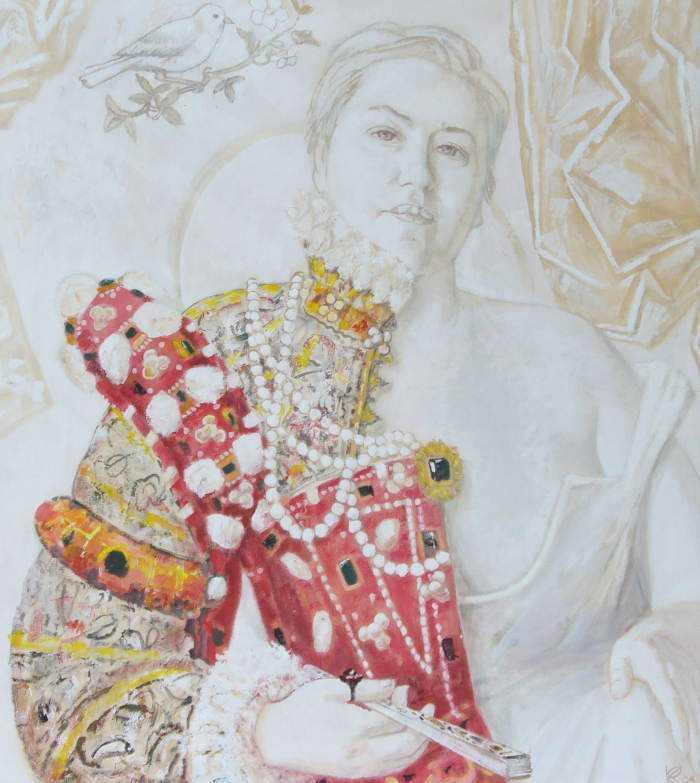 Коваленко В.Т. П-т искусствоведа в английском костюме эпохи Шекспира