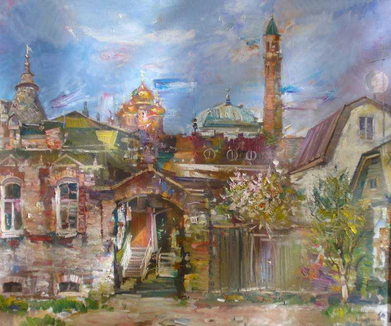 Парахин И.А. Весна в Астрахани