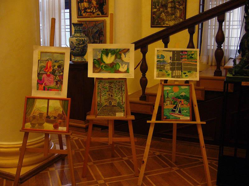 Выставка победителей детского творчества