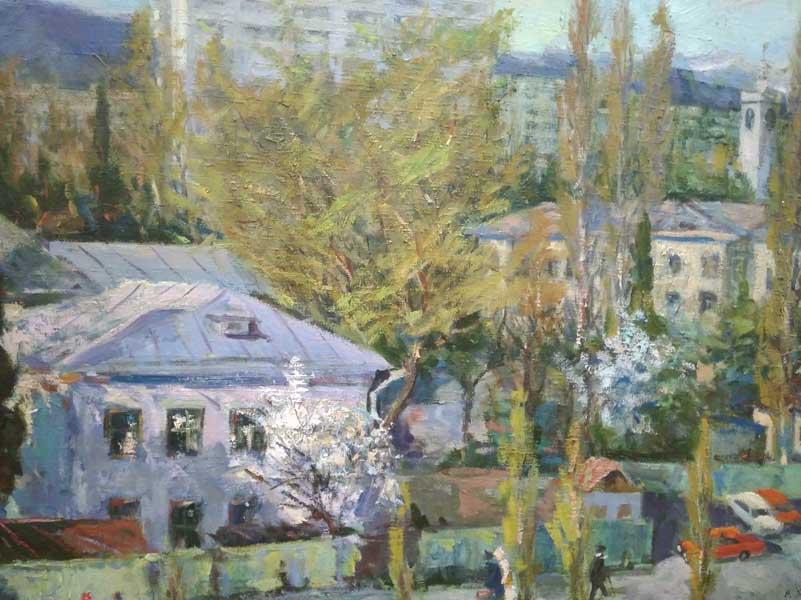 Художественная выставка Виталия Георгиевича Яблоновского