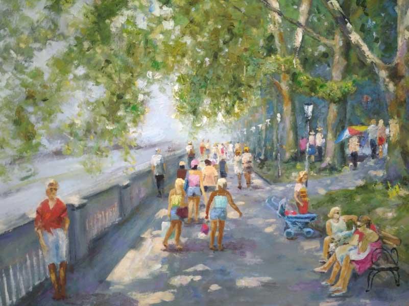 Персональная выставка сочинского живописца Виталия Георгиевича Яблоновского