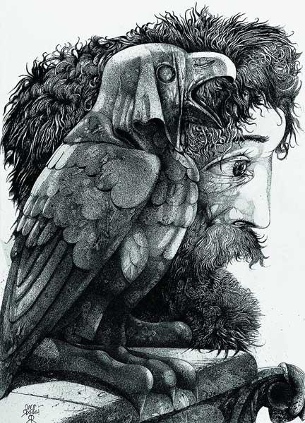 Графические миры Олега Яхнина в Сочинском Художественном музее