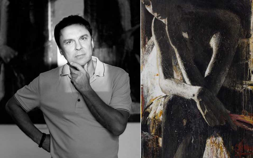 персональная выставка живописи и графики Сергея Яшина (Краснодар)