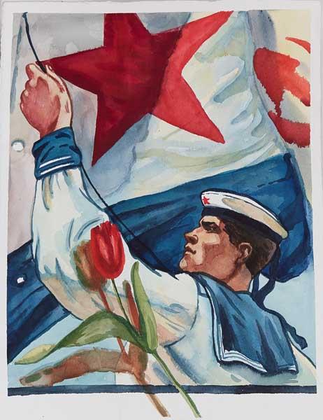 9 Мая День Победы Сириус Созвездие молодых талантов выставка произведений выпускников в Сочинском Художественном музее