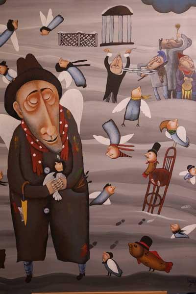 Сочинский художественный музей имени Д.Д. Жилинского представляет выставку живописи известного российского художника Дмитрия Бухрова Вне временного