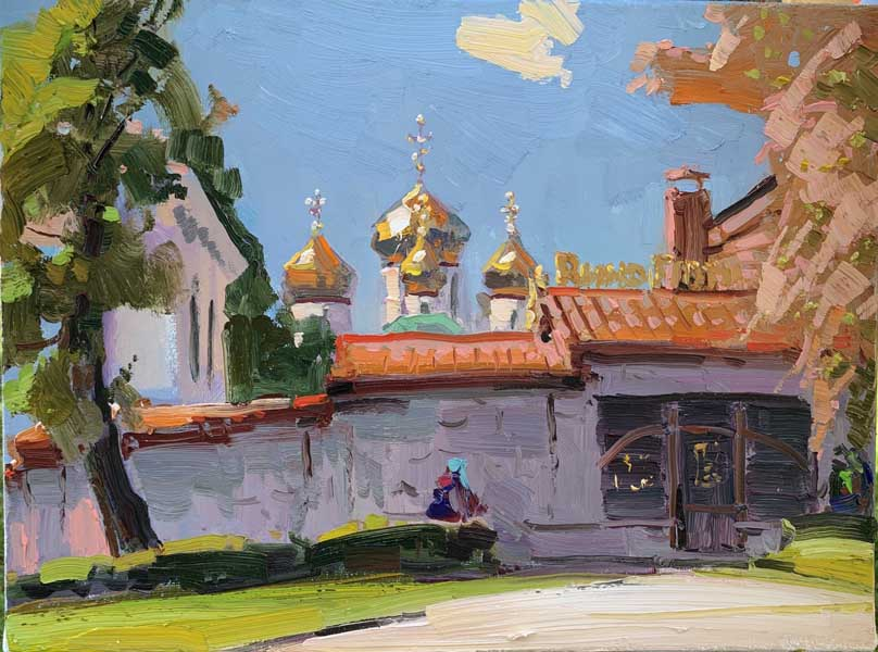 Персональная выставка Игоря Хоронько Родное Ставрополье в Сочинском Художественном музее