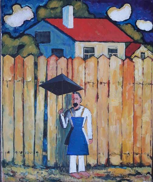 Персональная выставка Александра Кацалапа в Сочинском Художественном музее