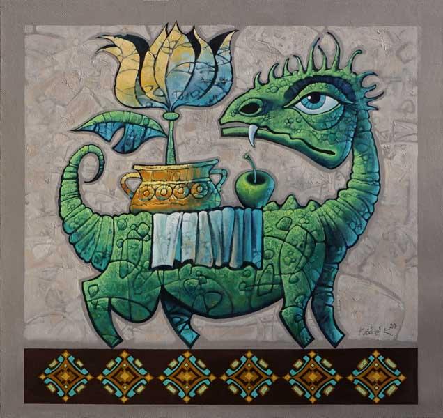Константин Канский Персональная выставка Золотые рыбки в Сочинском Художественном музее