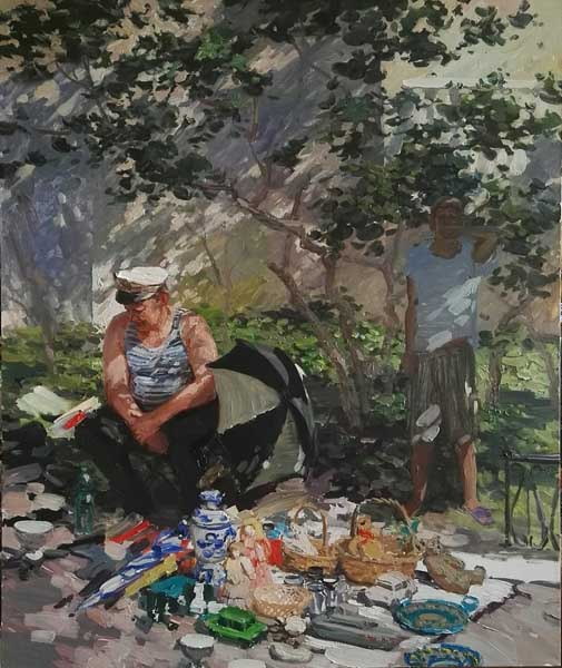 Выставка российских художников Кавказская Ривьера. Баталии за Рай.