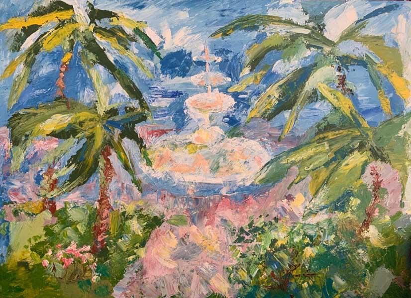 Персональная выставка живописи Мой Сочи. Эдуард Кундакчян в Сочинском Художественном музее