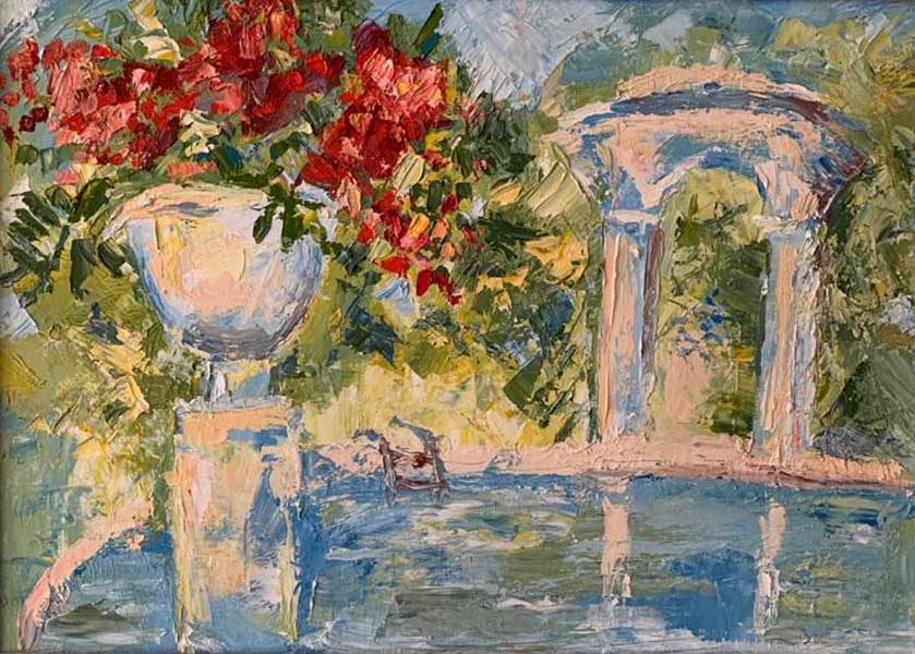 Персональная выставка живописи Эдуарда Кундакчяна Мой Сочи