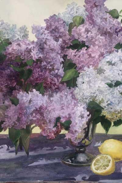 Миклушевская Ирина Николаевна Персональная выставка Цветы и море в Сочинском художественном музее