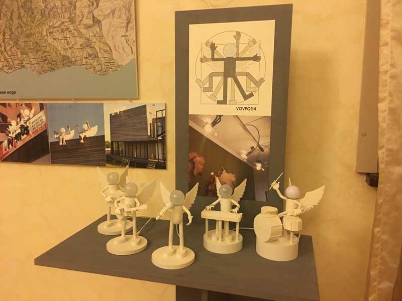Выставка Обновление Общероссийской общественной организации Союз Дизайнеров России