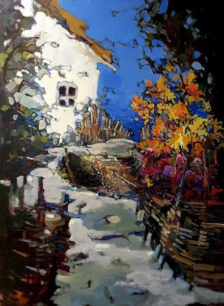 Юбилейная выставка Александра Отрошко (Сочи) Краски жизни в Сочинском Художественном музее