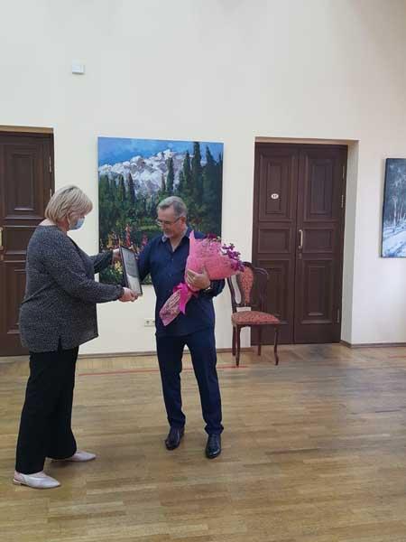 Александр Отрошко в Сочинском Художественном музее