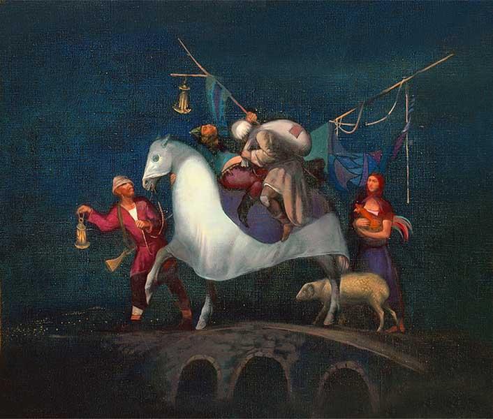 Выставка Кавказ как Теменос, или Святое подворье России в Сочинском Художественном музее