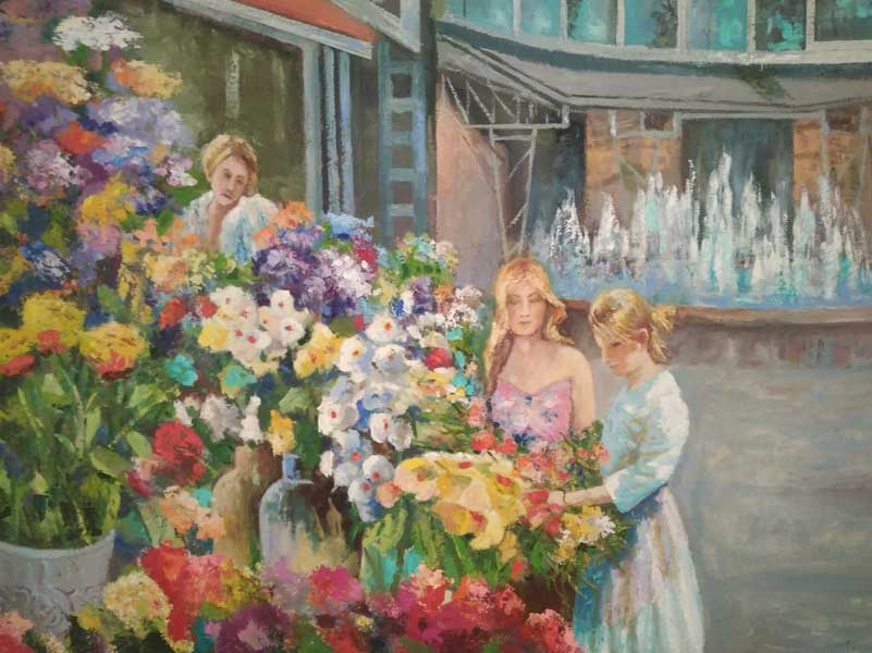 Виталий Яблоновский  персональная выставка старейшего сочинского художника в Сочинском Художественном музее